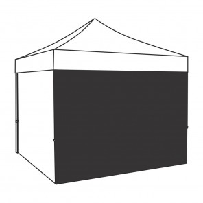 3m full height single sided custom printed gazebo side panel