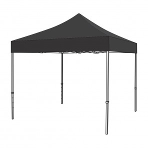 3m x 3m (Black) Pop Up Gazebo Canopy